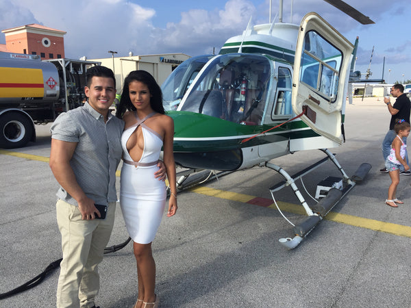 Miami HeliTour over the Miami Area for 2 Persons - Private HeliTour