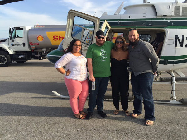 Miami HeliTour over the Miami Area for 4 Persons (shared ride)