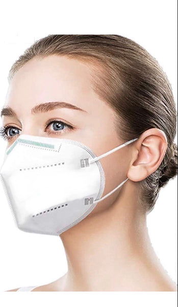 Zone X - N95 Masks (Five White Pieces in Sealed Packet) FDA Registered