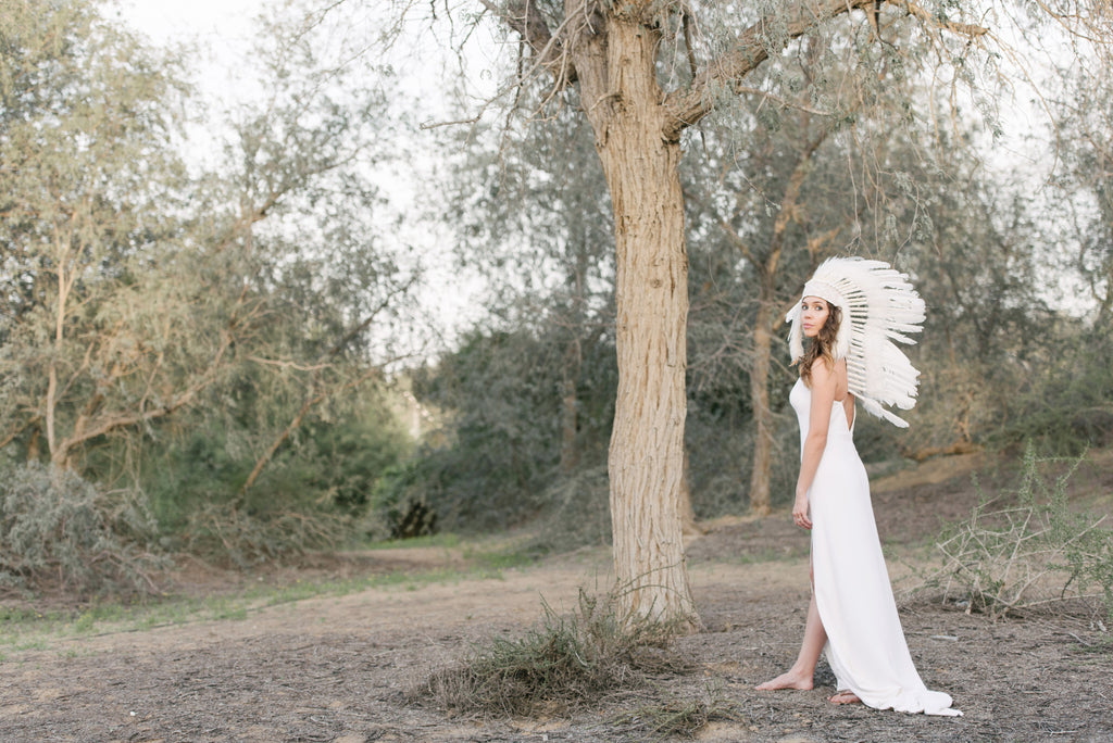 New Beginnings – A Free Spirited, Bohemian Shoot in Whimsical Woodland