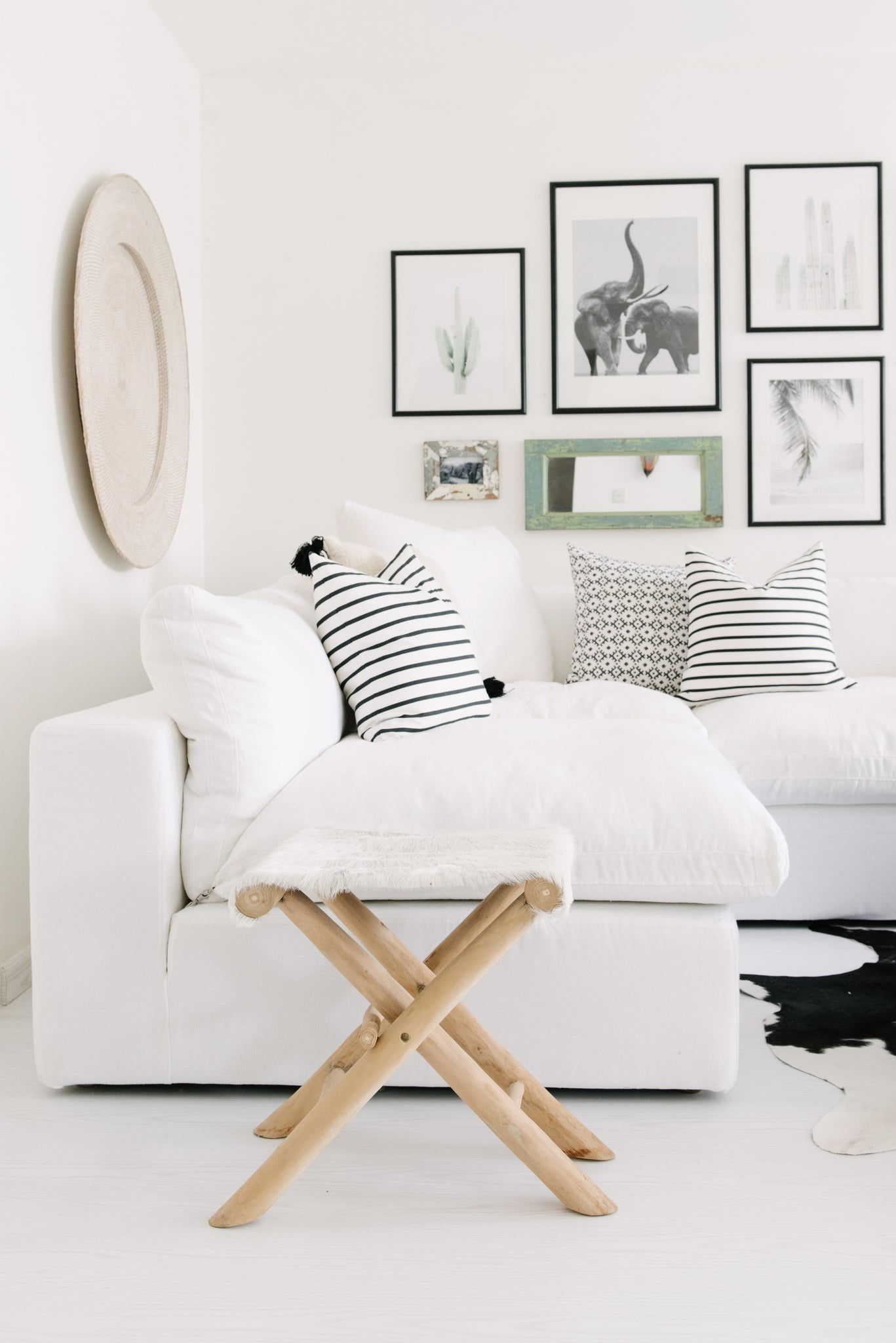 Build Your Dream Gallery Wall White Moss