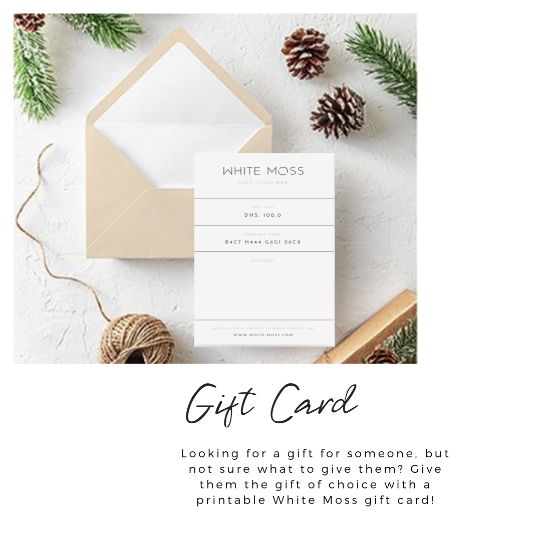 White Moss Gift Card