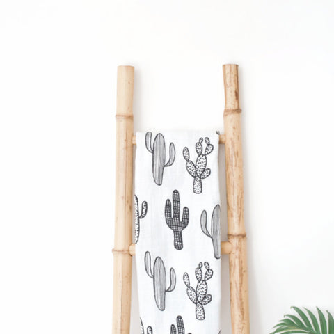 Muslin Blanket - Cactus - Joba Collection: Alternate View #2
