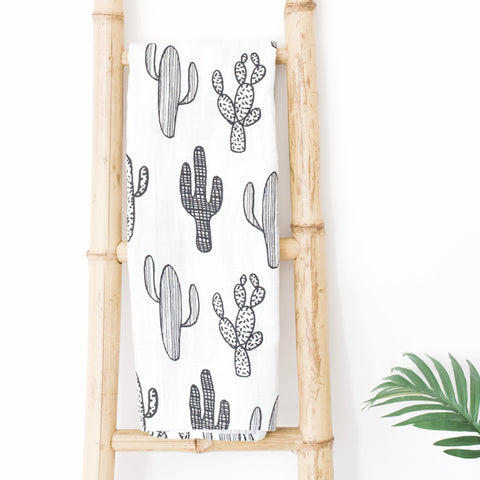Muslin Blanket - Cactus - Joba Collection: Alternate View #1
