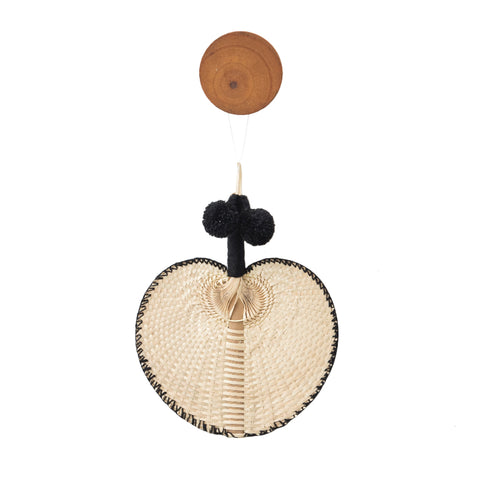 Aiza Fan Pom Pom Black
