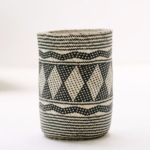 Borneo Tribal Basket: Alternate View #3