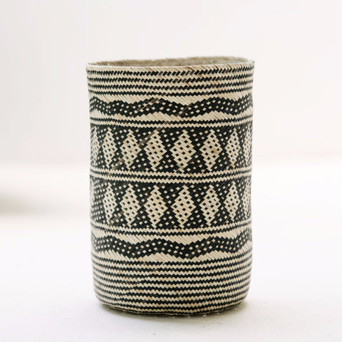Borneo Tribal Basket: Alternate View #2