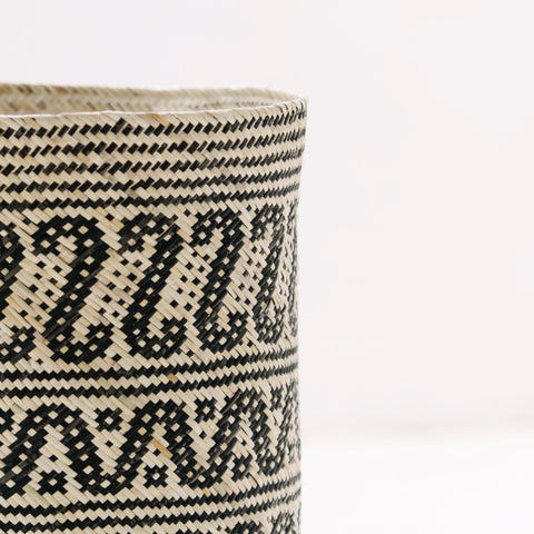 Borneo Tribal Basket: Alternate View #6