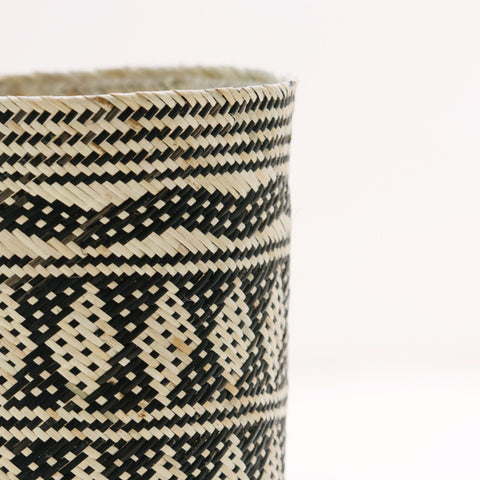 Borneo Tribal Basket: Alternate View #7