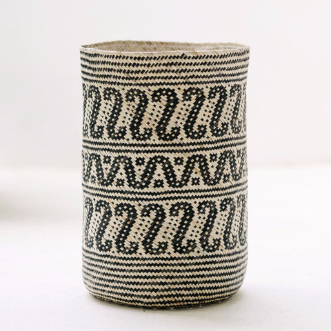 Borneo Tribal Basket: Alternate View #4