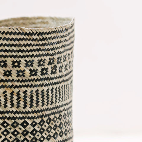 Borneo Tribal Basket: Alternate View #5