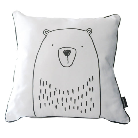 MONOCHROME CUSHION - BEAR: Alternate View #2