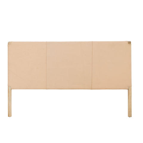 Bella Leather Headboard Blush