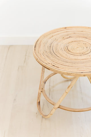 Boquete Rattan Side Table: Alternate View #3