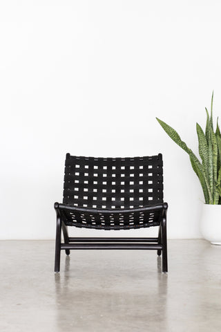 Bali Statement Lounger Black: Alternate View #4