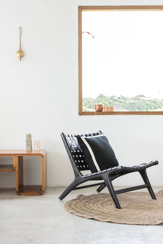 Bali Statement Lounger Black: Alternate View #8