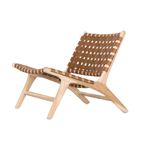 Bali Statement Lounger Tan: Alternate View #1