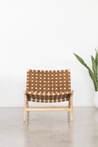 Bali Statement Lounger Tan: Alternate View #4