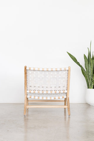 Bali Statement Lounger White: Alternate View #5
