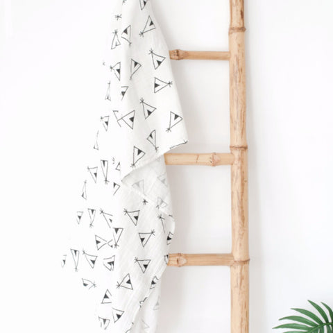 Muslin Blanket- Teepee - Joba Collection: Alternate View #1