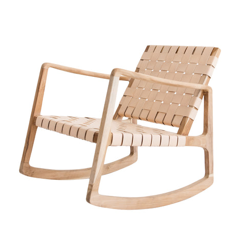 Beau Rocking Chair - Blush: Alternate View #1