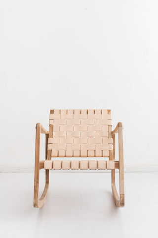 Beau Rocking Chair - Blush: Alternate View #3