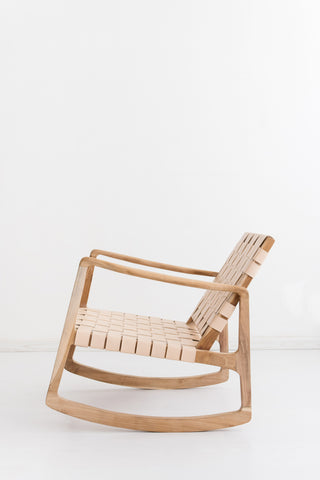Beau Rocking Chair - Blush: Alternate View #4