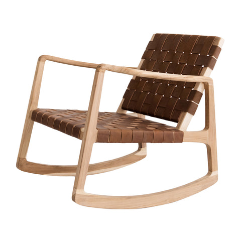 Beau Rocking Chair - Tan