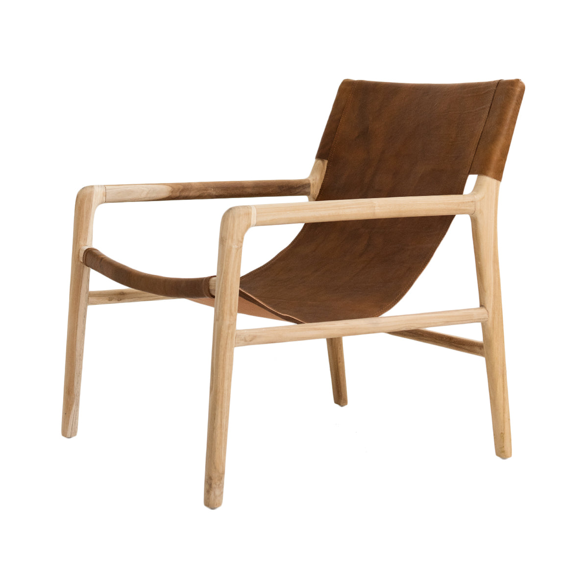 Bella Armchair - Tan Leather