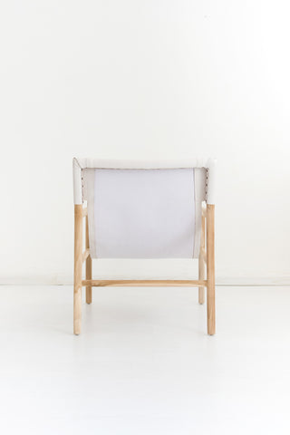 Bella Armchair - White Leather: Alternate View #5