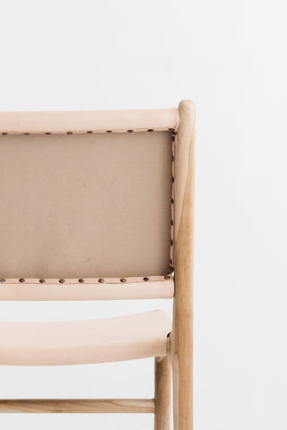 Bella Dining Chair - Blush Leather: Alternate View #11