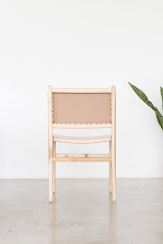 Bella Dining Chair - Blush Leather: Alternate View #4