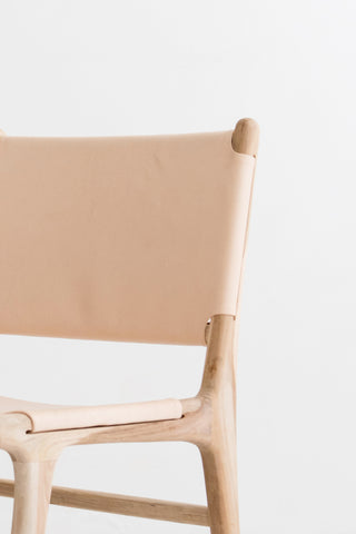 Bella Dining Chair - Blush Leather: Alternate View #10