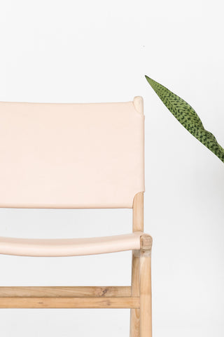 Bella Dining Chair - Blush Leather: Alternate View #6