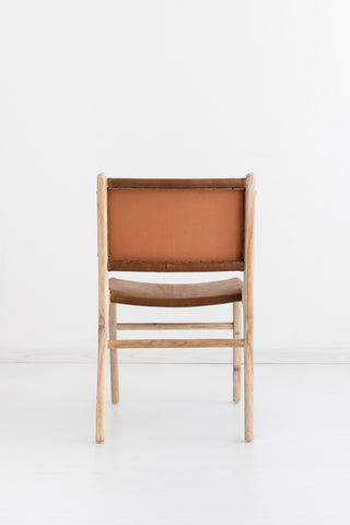Bella Dining Chair - Tan Leather: Alternate View #5