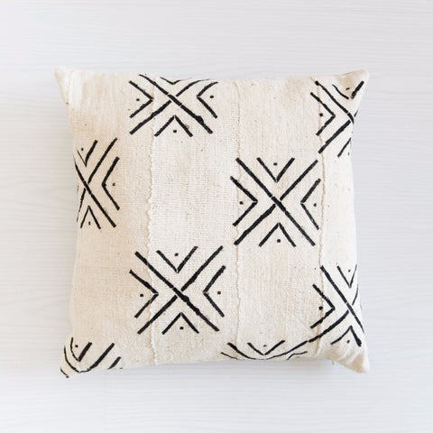 mudcloth cushion