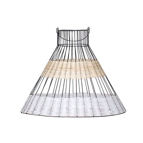 Corset Pendant Light - Black