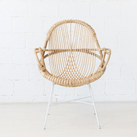 rattan diamond chair