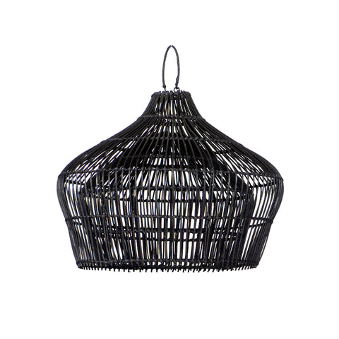 Double Belly Pendant Light Black: Alternate View #1