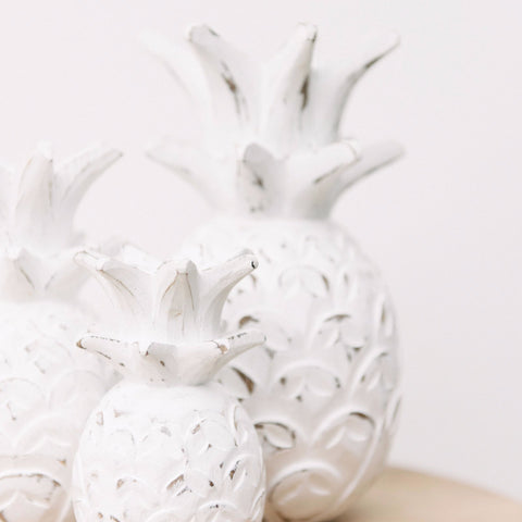Wooden Pineapple Décor: Alternate View #3