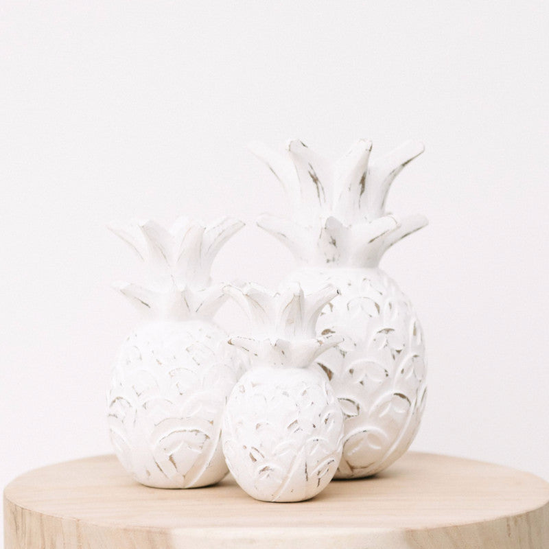 Wooden Pineapple Décor