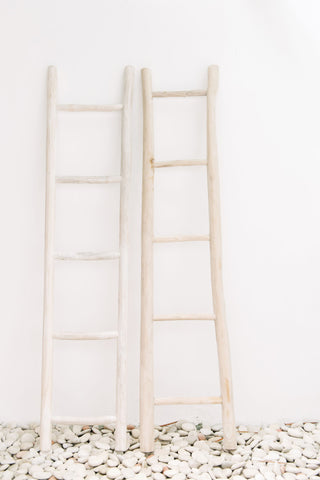 Wooden Ladder Whitewash: Alternate View #4