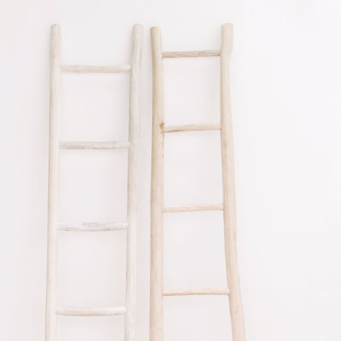 Wooden Ladder Whitewash: Alternate View #7