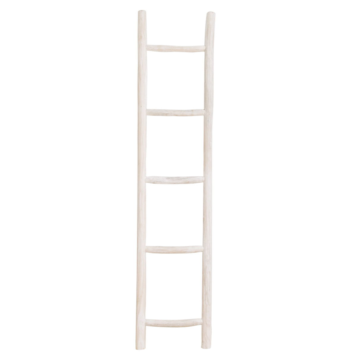 Wooden Ladder Whitewash