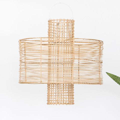 Hive Rattan Pendant Light Natural