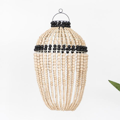Honey Bead Pendant Light Black: Alternate View #2