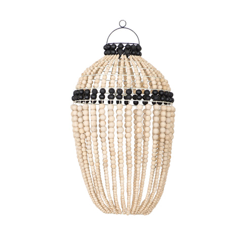 Honey Bead Pendant Light Black