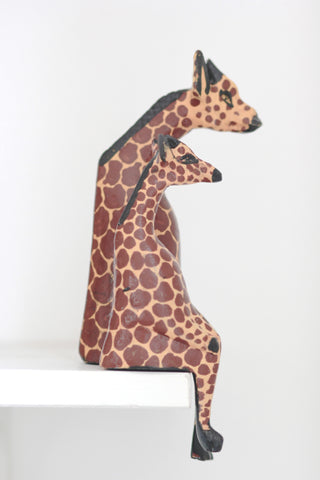 Shelfie Animal - Wooden Giraffe: Alternate View #3