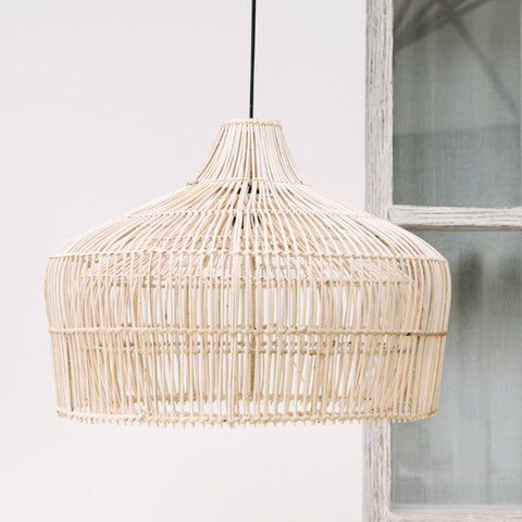 rattan light shade