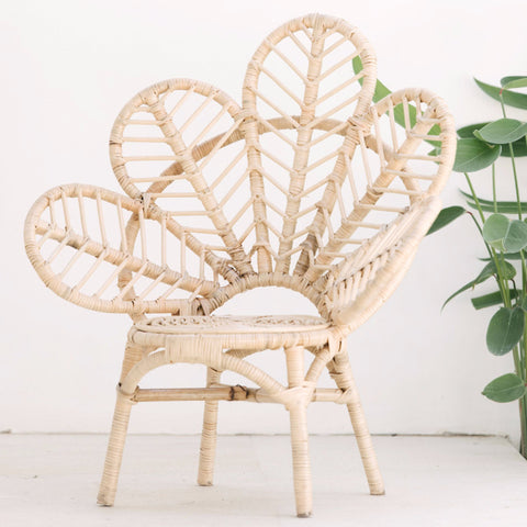Mini Rattan Love Chair